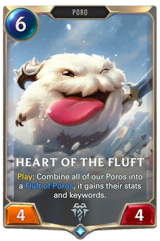 Legends of Runeterra Heart of the Fluft Card