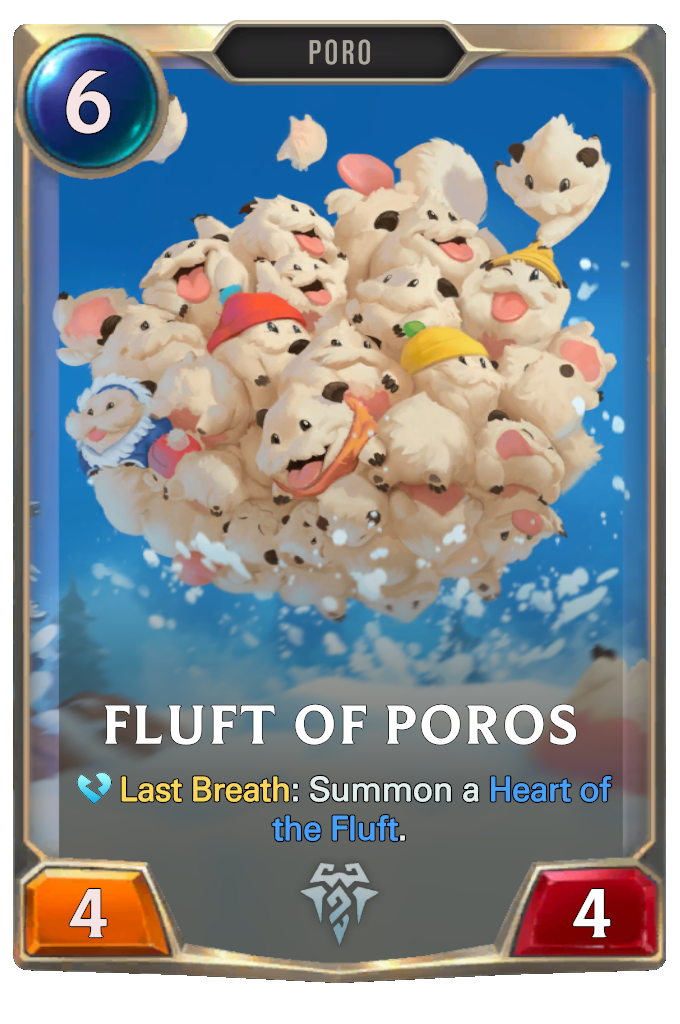 Fluft of Poros Card