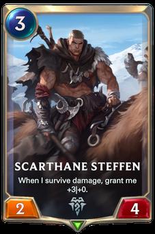 Legends of Runeterra Scarthane Steffen Card
