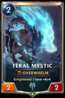 Legends of Runeterra Feral Mystic Card