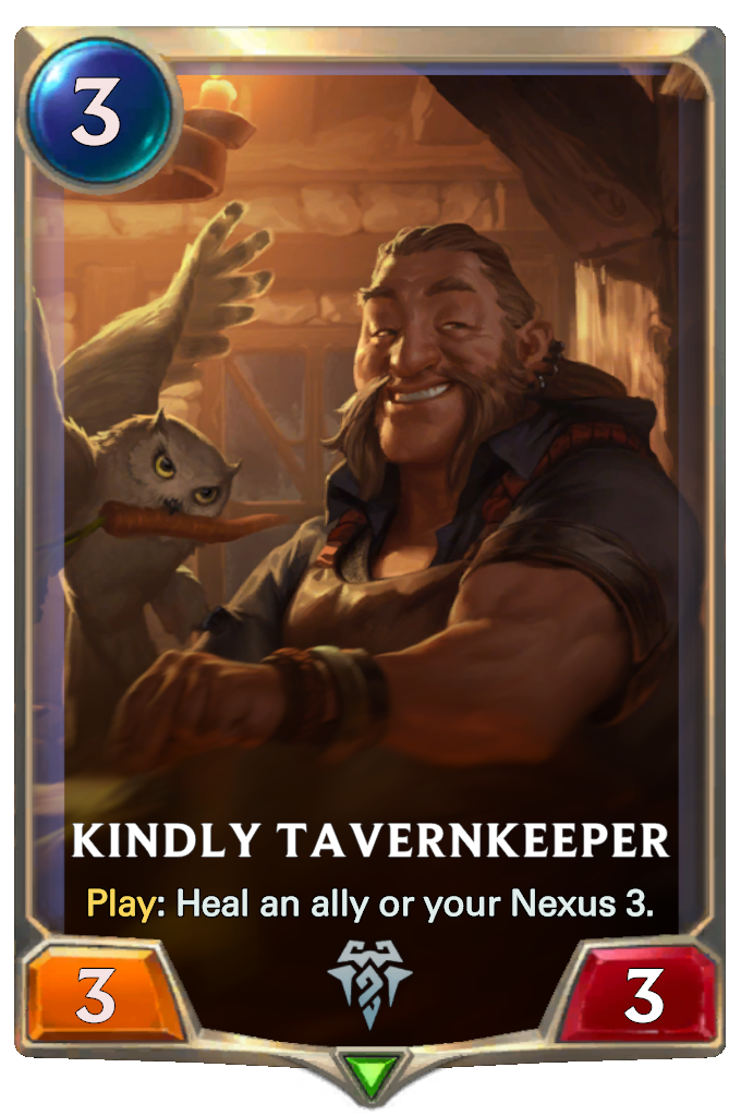 Kindly Tavernkeeper Card Image