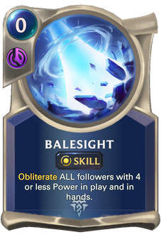 Legends of Runeterra Balesight Card