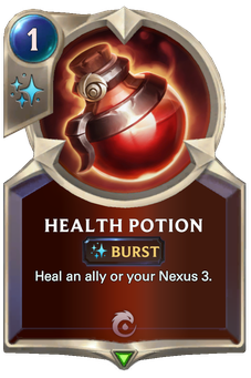 Legends of Runeterra Health Potion Card