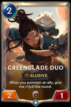 Legends of Runeterra Greenglade Duo Card