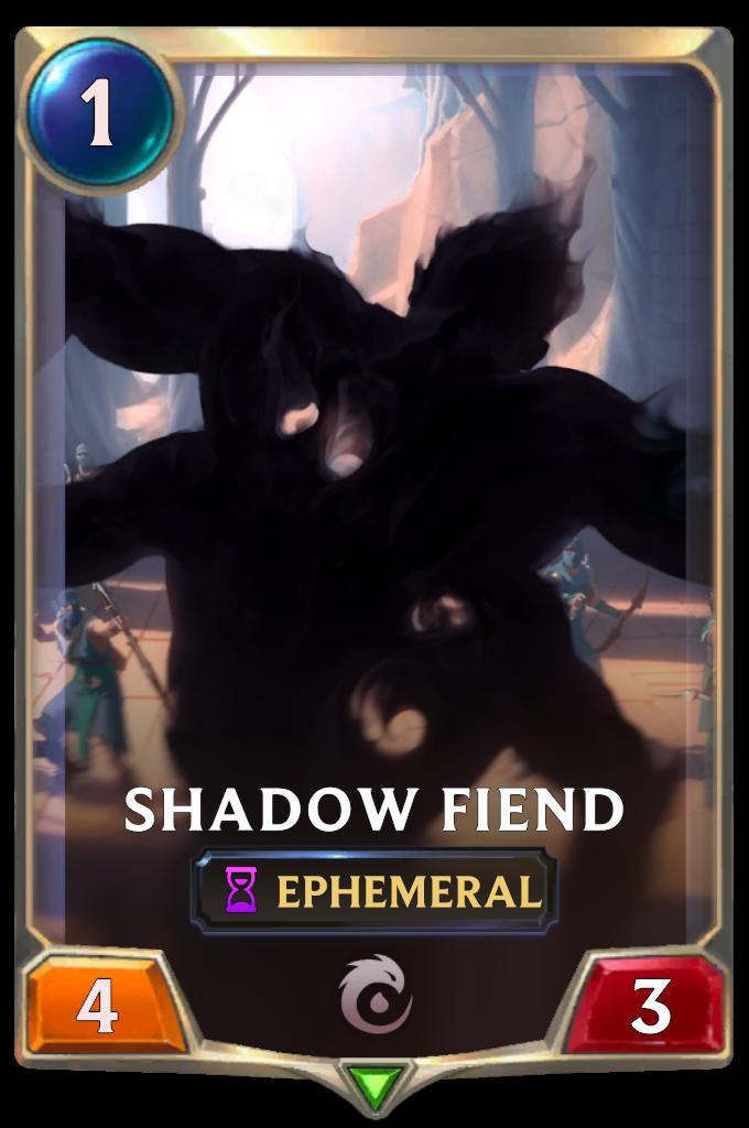 Shadow Fiend Card