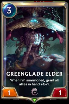 Legends of Runeterra Greenglade Elder Card