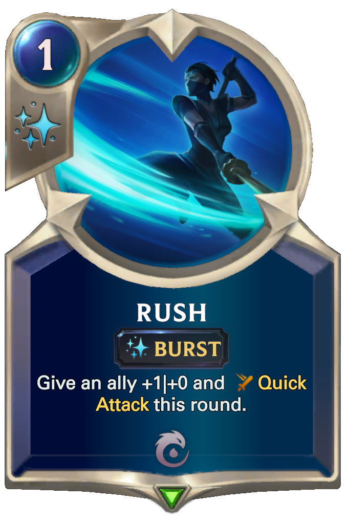 Legends of Runeterra Rush Card