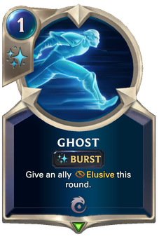Legends of Runeterra Ghost Card