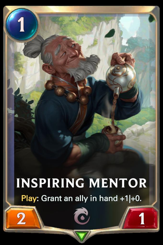 Inspiring Mentor Card Image