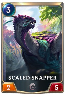 Legends of Runeterra Scaled Snapper Card