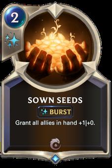 Legends of Runeterra Sown Seeds Card