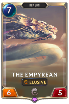 Legends of Runeterra The Empyrean Card