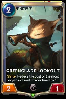 Legends of Runeterra Greenglade Lookout Card