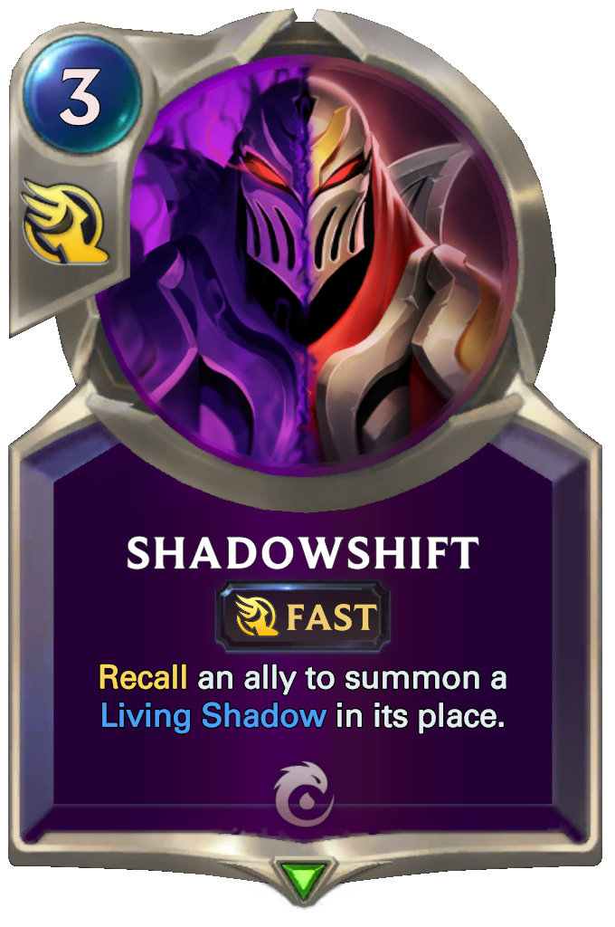Legends of Runeterra Shadowshift Card
