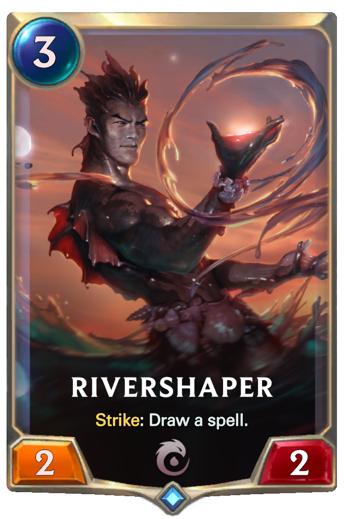 Legends of Runeterra Rivershaper Card