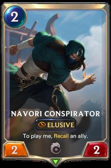 Legends of Runeterra Navori Conspirator Card