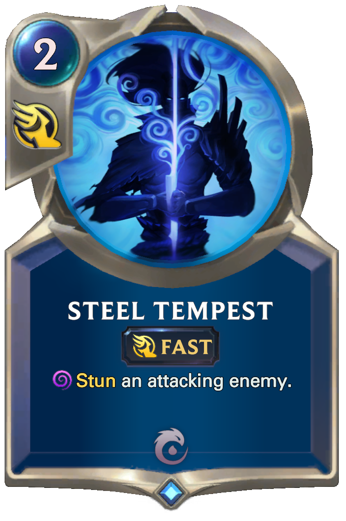 Legends of Runeterra Steel Tempest Card