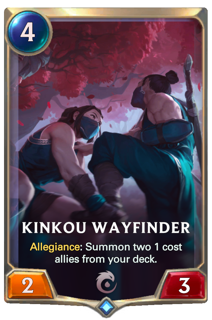 Legends of Runeterra Kinkou Wayfinder Card