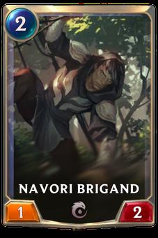 Legends of Runeterra Navori Brigand Card