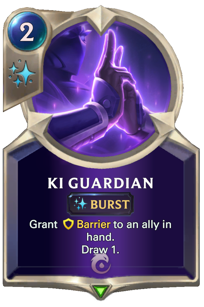 Legends of Runeterra Ki Guardian Card