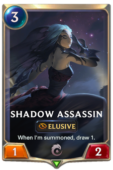 Legends of Runeterra Shadow Assassin Card