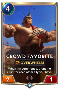 Crowd Favorite Card Image