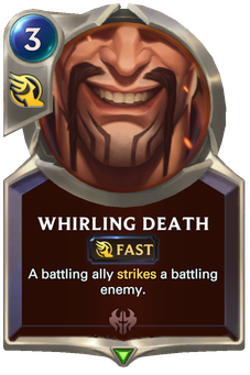 Whirling Death Card Image