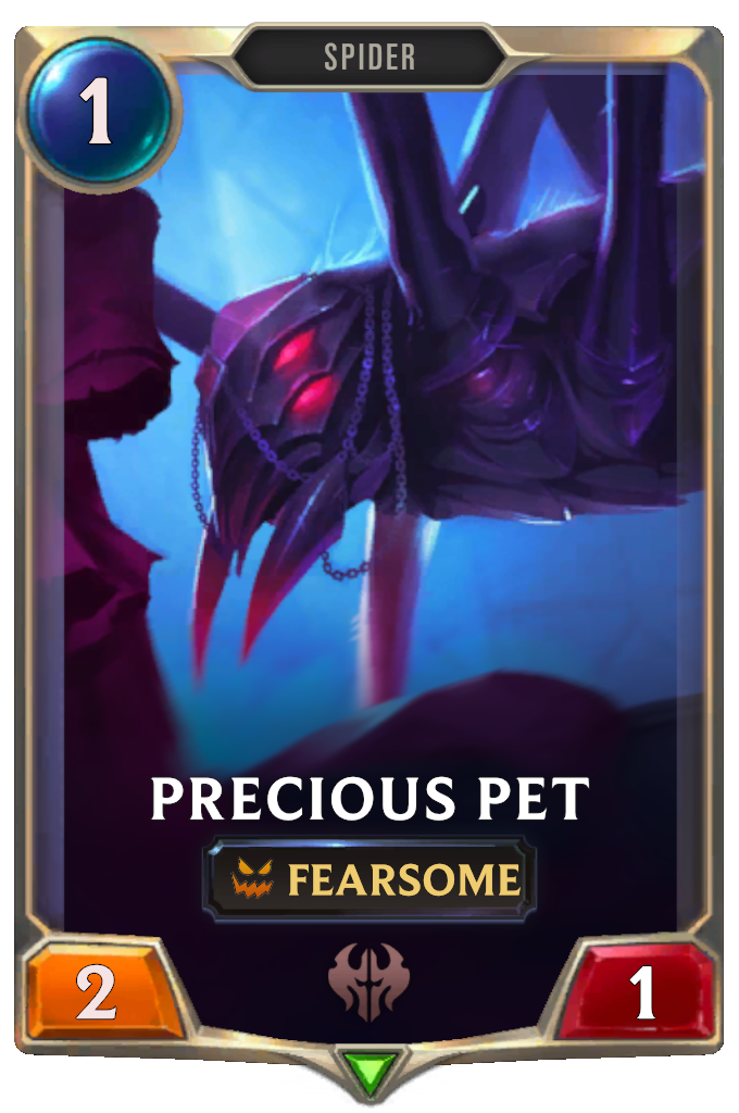 Legends of Runeterra Precious Pet Card