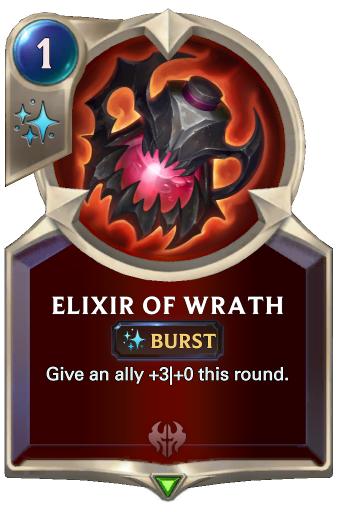 Legends of Runeterra Elixir of Wrath Card