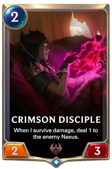 Crimson Disciple Card Image