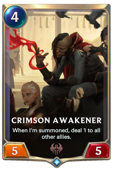 Crimson Awakener Card