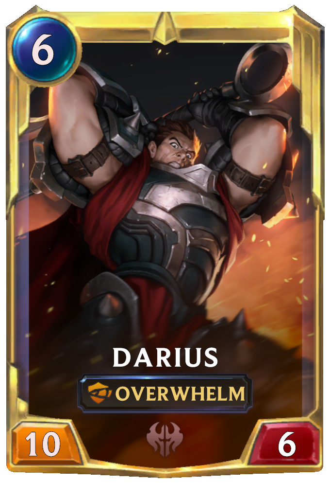 Legends of Runeterra Darius Card
