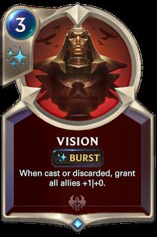 Legends of Runeterra Vision Card