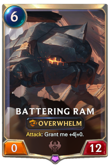 Legends of Runeterra Battering Ram Card