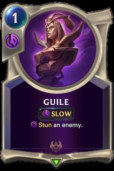Legends of Runeterra Guile Card