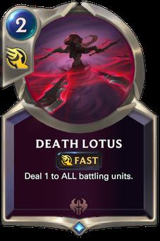 Legends of Runeterra Death Lotus Card