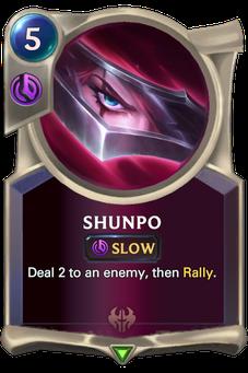 Legends of Runeterra Shunpo Card