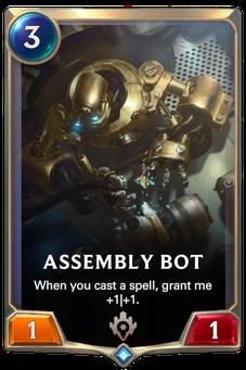 Legends of Runeterra Assembly Bot Card