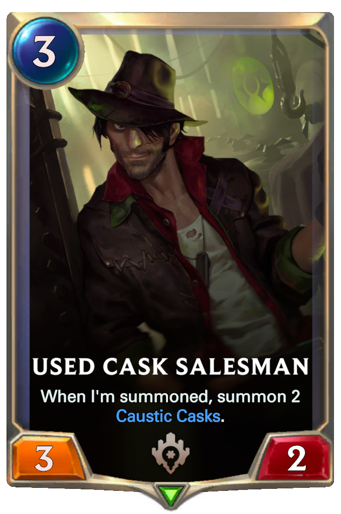 Used Cask Salesman Card Image