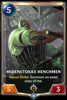 Legends of Runeterra Midenstokke Henchmen Card