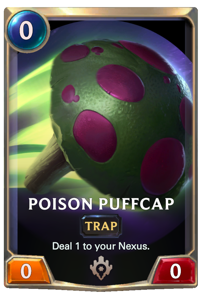Poison Puffcap Card