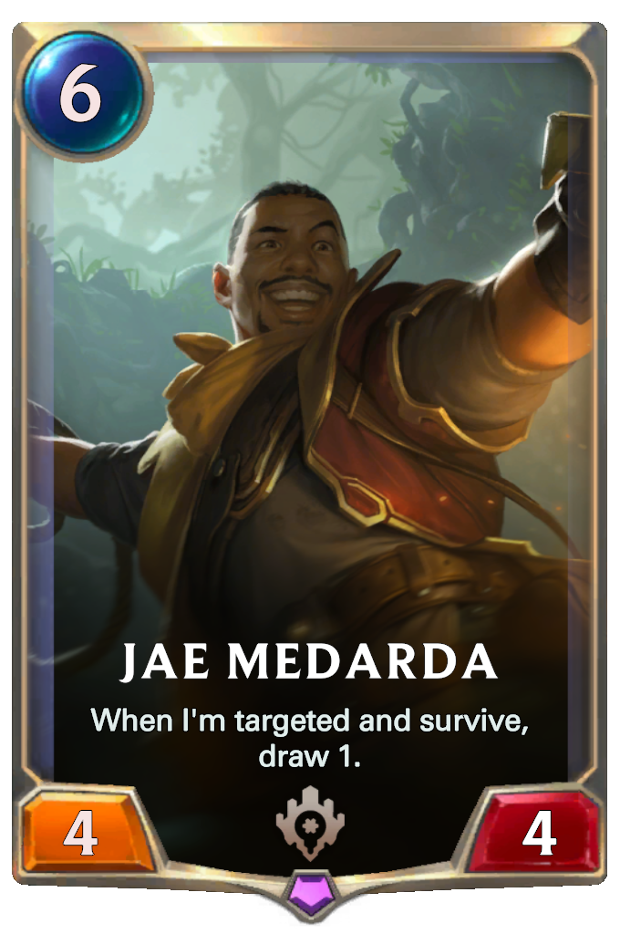 Legends of Runeterra Jae Medarda Card
