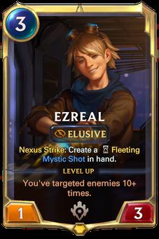 Legends of Runeterra Ezreal Card