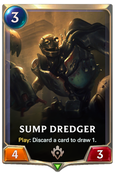 Legends of Runeterra Sump Dredger Card