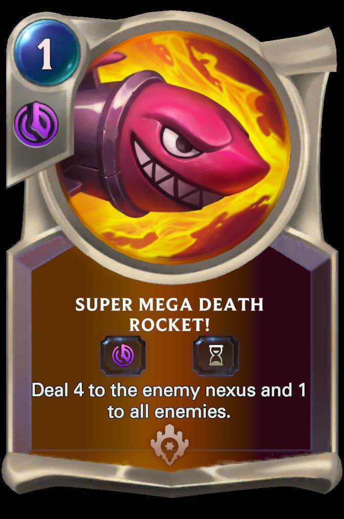 Super Mega Death Rocket! Card