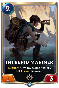 Legends of Runeterra Intrepid Mariner Card