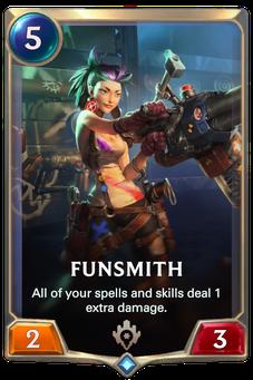 Legends of Runeterra Funsmith Card