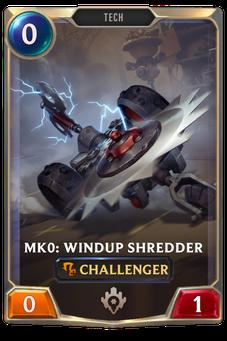 Mk0: Windup Shredder Card