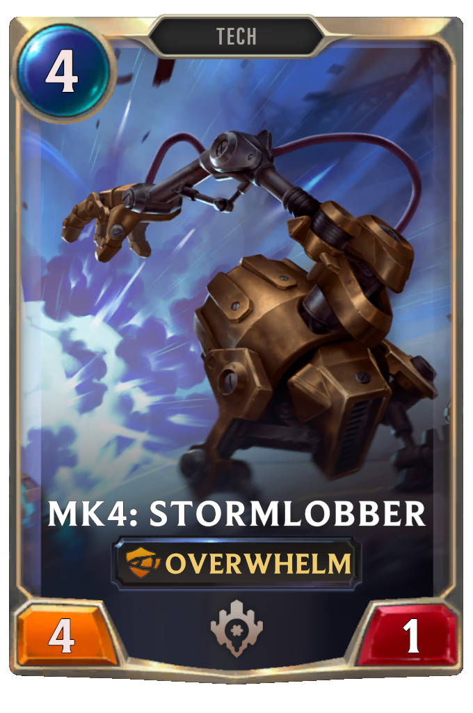 Legends of Runeterra Mk4: Stormlobber Card