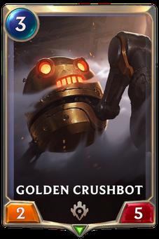 Legends of Runeterra Golden Crushbot Card